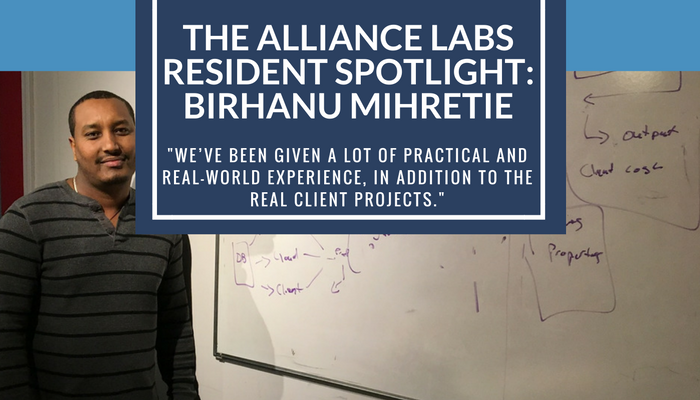The Alliance Labs Resident Spotlight: Birhanu Mihretie