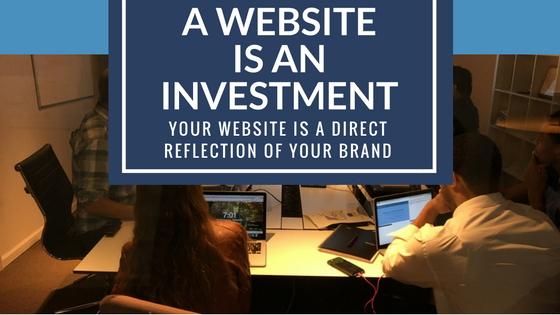 A Professionally Designed Website is an Investment in Your Brand